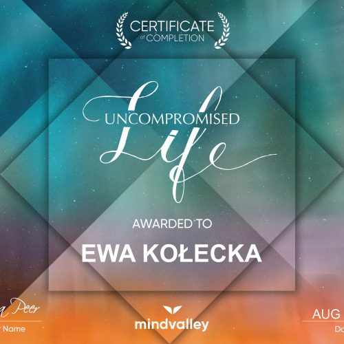 certificate uncompromised life
